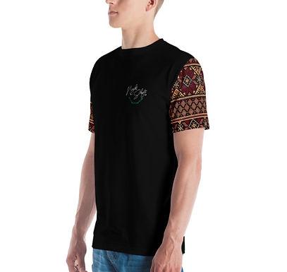 Tatreez Sleeve Chest Logo UNISEX T-Shirt