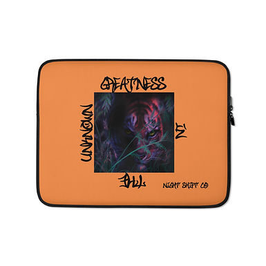 Graphic Laptop Sleeve