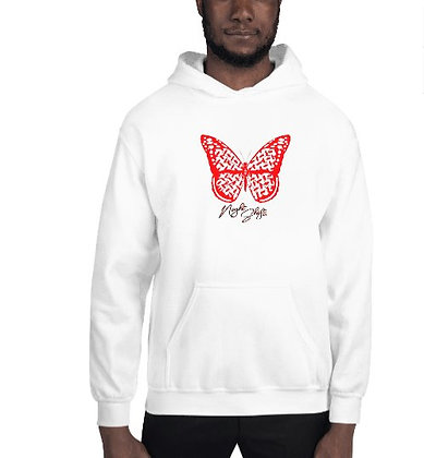 Keffiyah Butterfly Graphic Hoodie