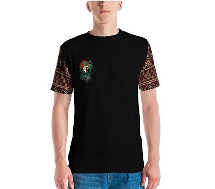 Tatreez Sleeve Graphic Logo UNISEX T-Shirt