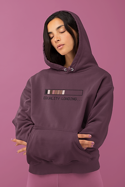 Equality Bar Graphic Unisex Hoodie