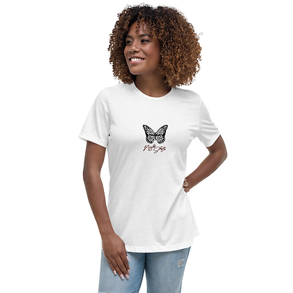 Keffiyeh Butterfly Relaxed T-Shirt