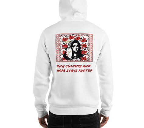 White Night Shift CO Culture Hoodie