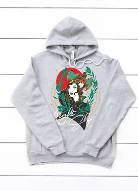 Peace Hoodie (Heather Grey)