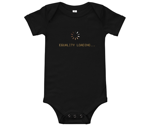 Baby Equality Buffering Tee Onesie