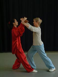Workshops handen duwen Zhang Zhouji België 2007