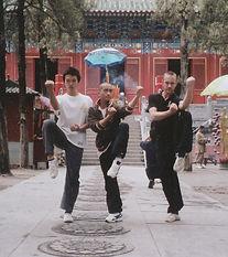 Isamu Imamura, Bai Zhongdi and Thomas Roelant Shaolinsi 2006