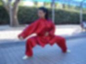 Training met Zhang Zhouji in renmin park, Shanghai, 2006