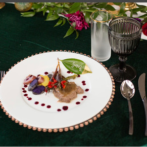 Photo credit: Molly Thomas Photography Catering: Chef Lee  Venue: Sunflower Hill Farm