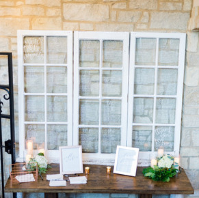 Silver Oaks Wedding - Seating Chart