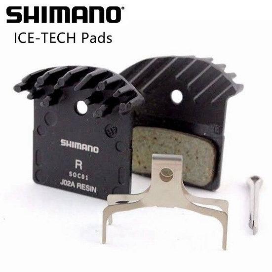 Pastillas Freno Shimano Ice-tech   J02a Xtr Xt Slx (resina)