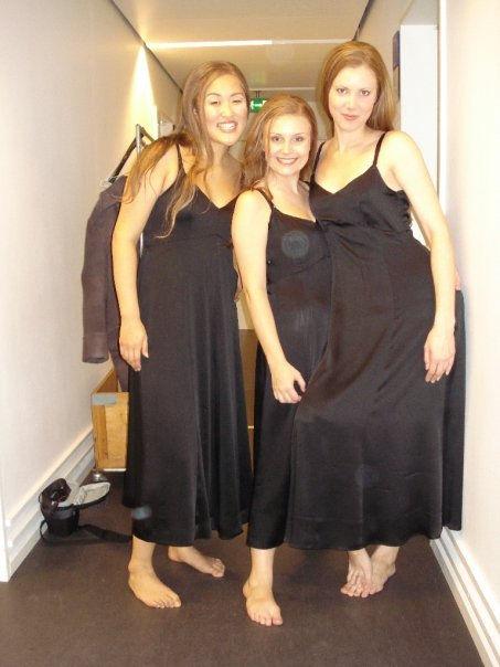 3 Nymphs