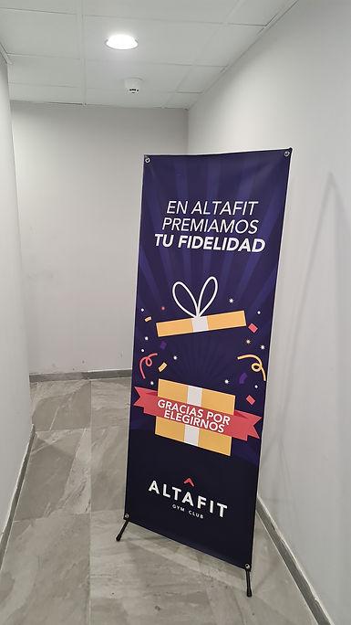 X-banner 60x160 Altafit