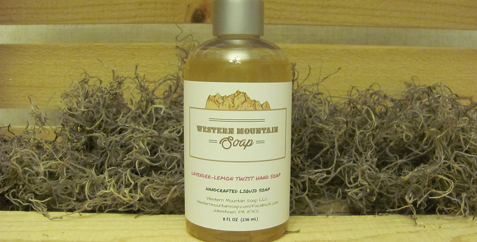 Lavender-Lemon Twist Liquid Hand Soap