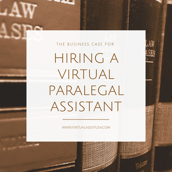 Should You Hire a Virtual Paralegal Assistant?