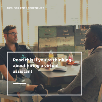 Read This if You Are Thinking About Hiring a Virtual Assistant