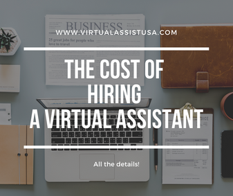 How Much Will It Cost Me to Hire a Virtual Assistant?
