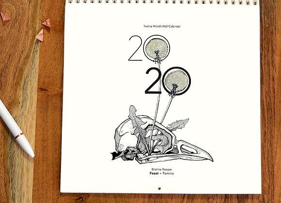 2020 Calendar / Feast + Famine