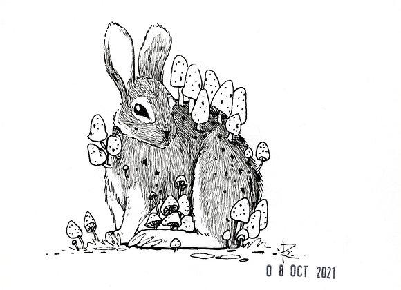 Hare // INKtober No. 8