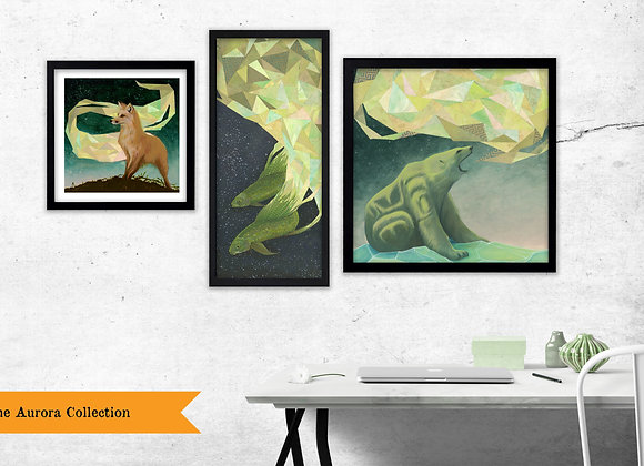 The Aurora Collection - Set of 3 Prints
