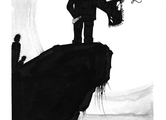 Word.A.Day Illustration // Brigand