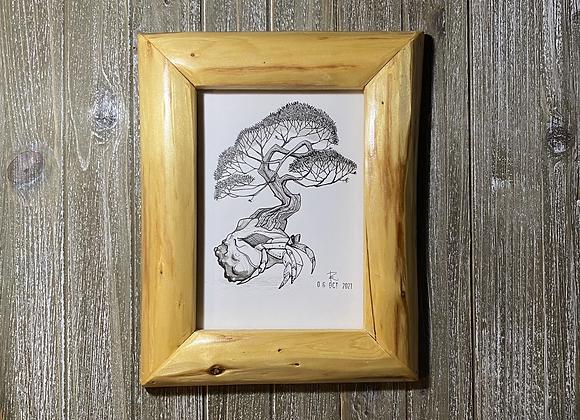 Hermit Crab // INKtober No. 6