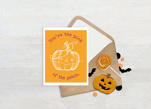 Pick of the Patch. / Greeting Card