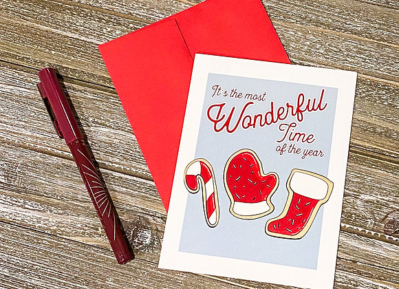 Most Wonderful Time / Holiday Card