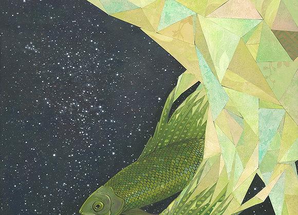 Wavelengths / Giclee Print
