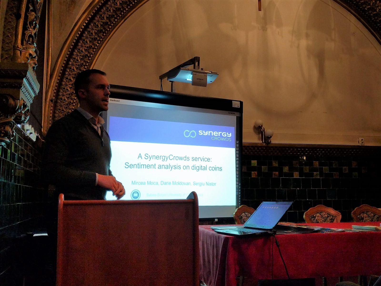 Mircea Moca SynergyCrowds - DigiHubb 2017