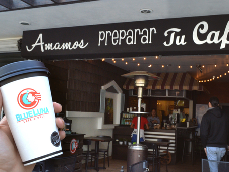 Blue Luna Café: Cómo estar en boca de todos