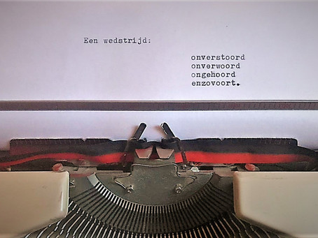 Literaire Wedloop Fiona & T. Hofkey
