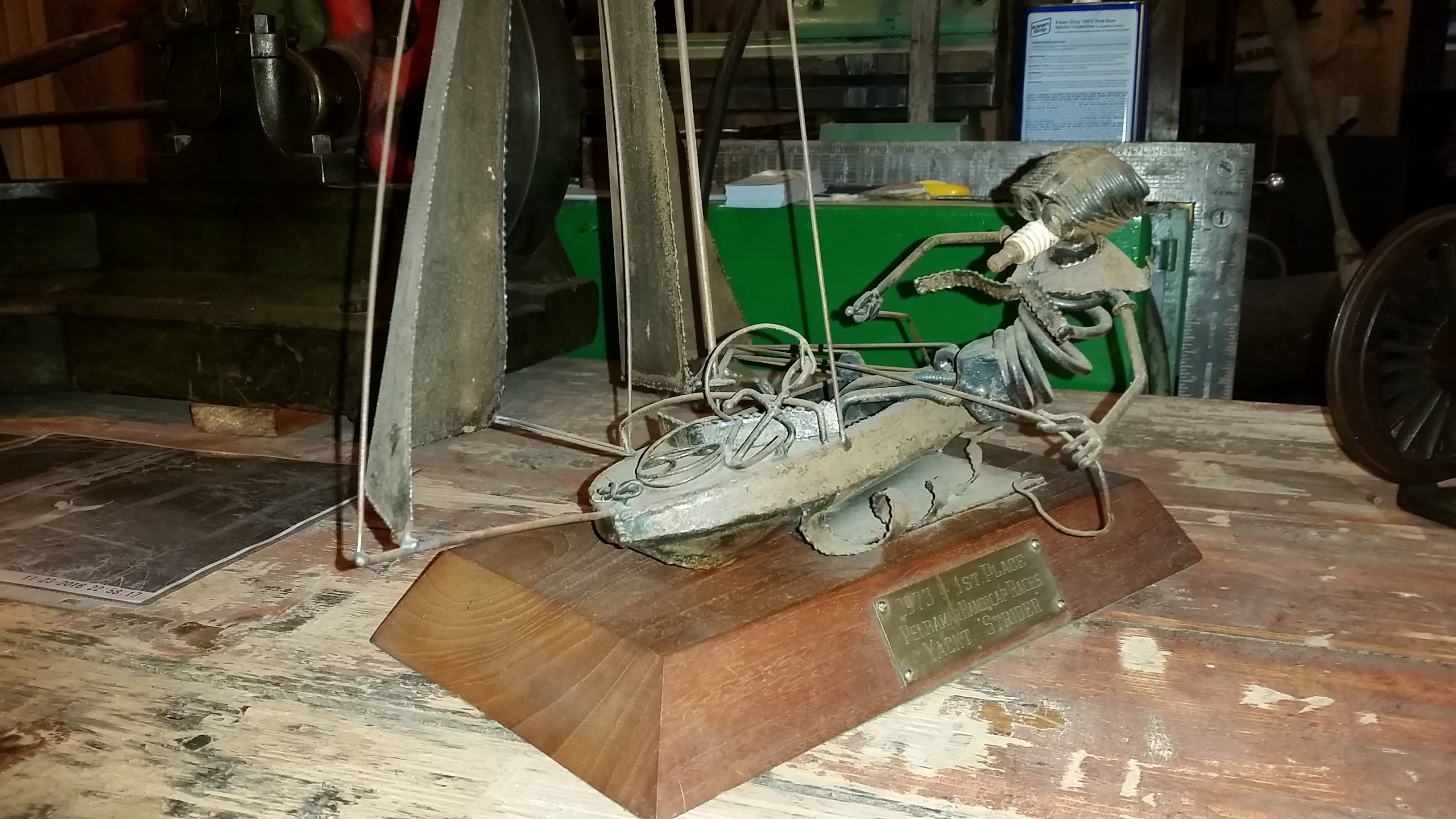 SOLD - Yacht Trophy