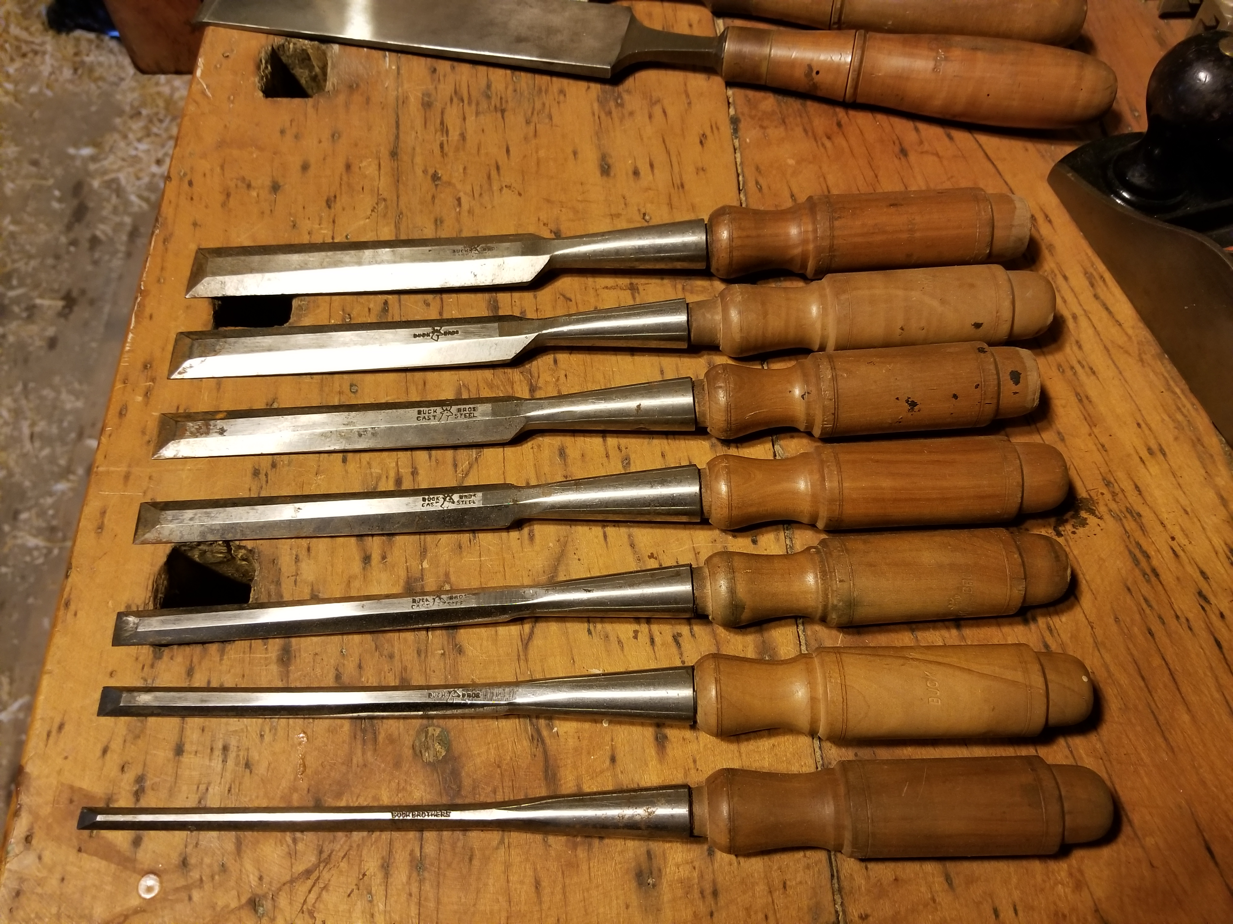 Buck Brothers Chisel Set