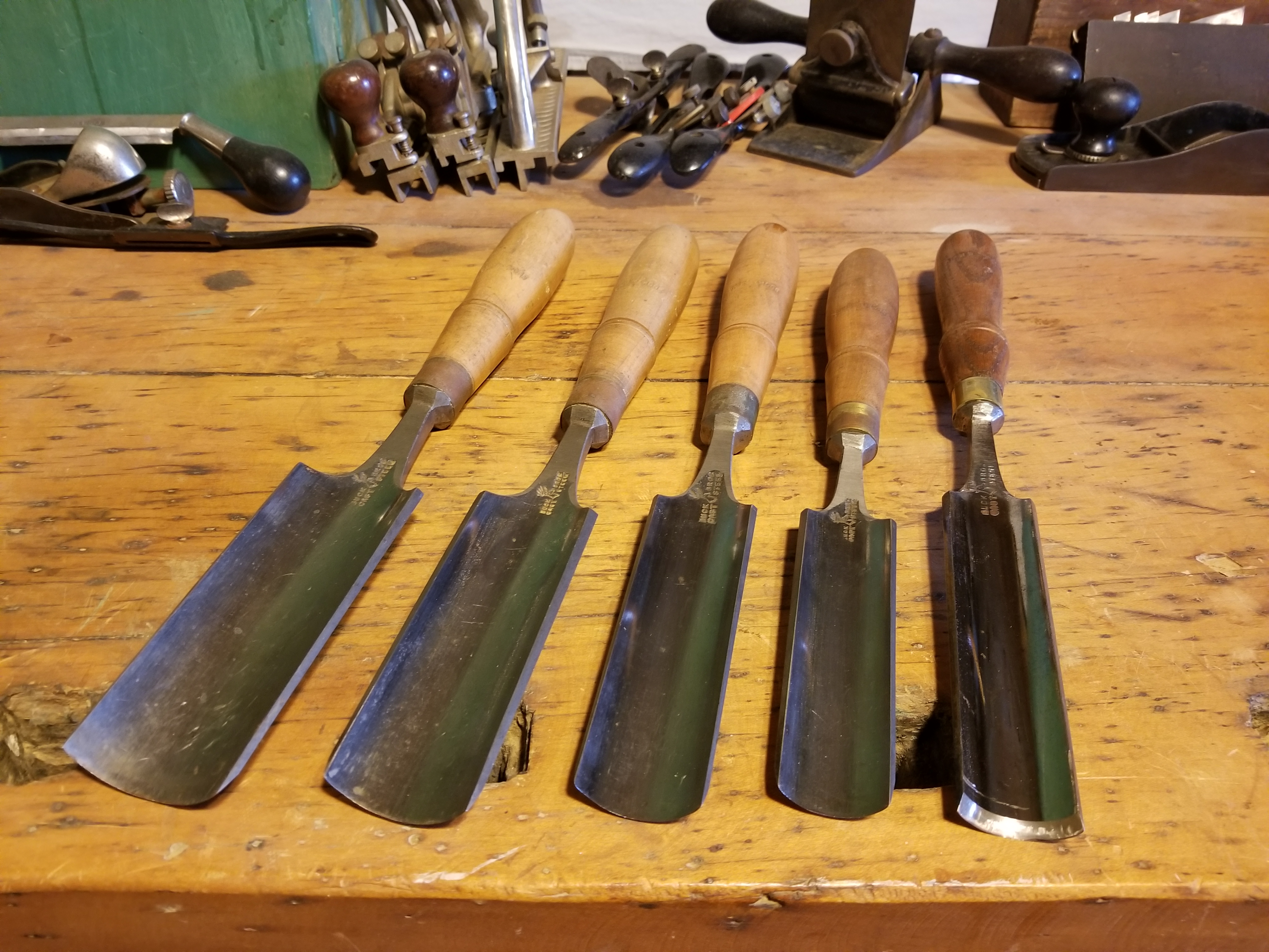 Buck Brothers Gouges