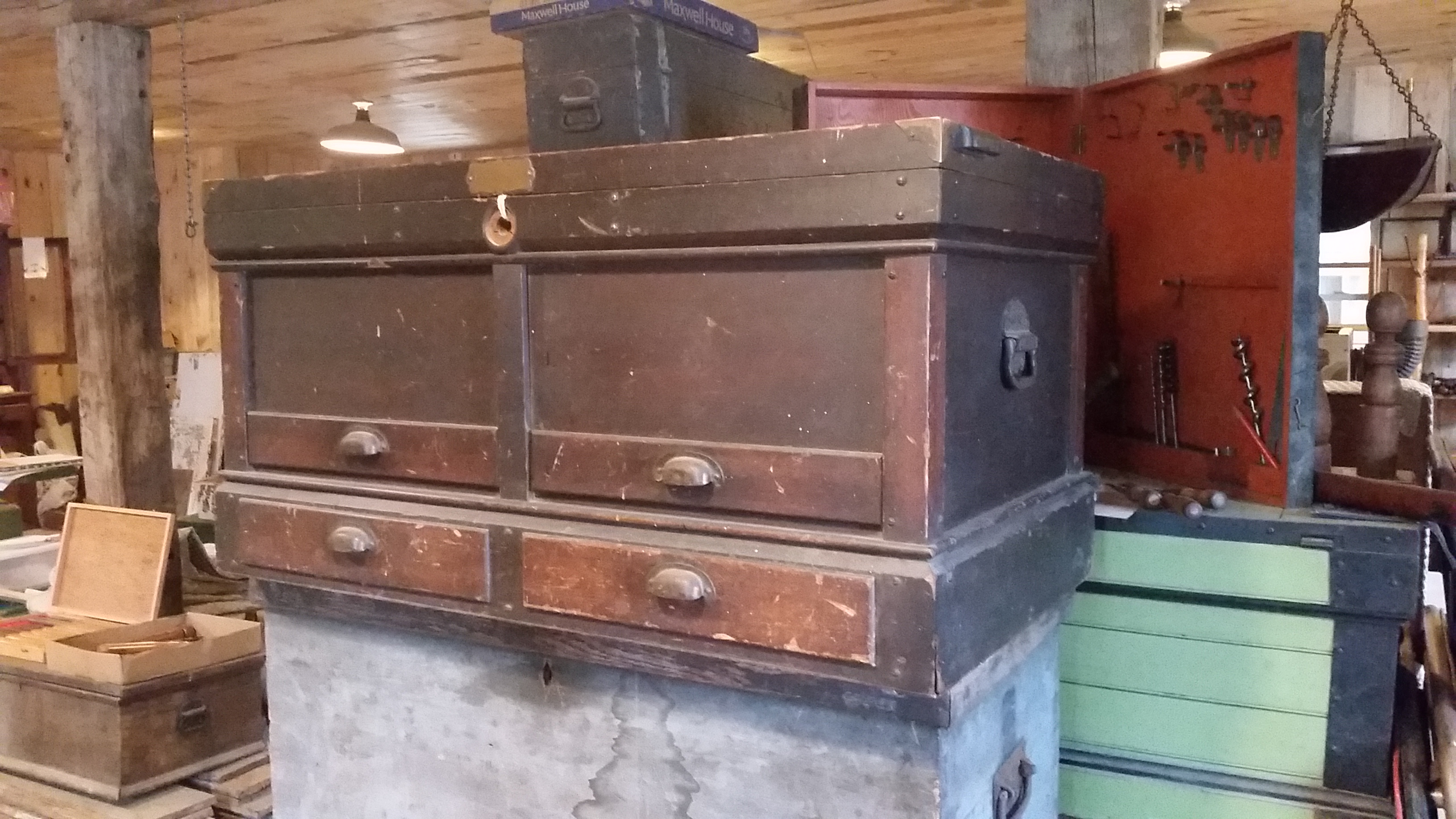 Chests $75. - $225.