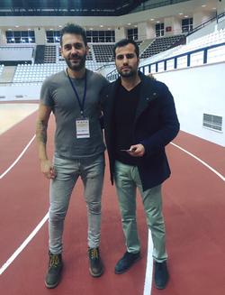 with Yakup Kilic