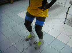 Testing AEL FC players, Cyprus
