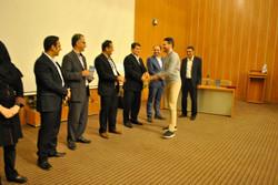 Lecturing at Shomal University, Iran