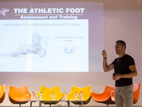 Foot Function and Athlete Monitoring: An Interview to Antonio Robustelli