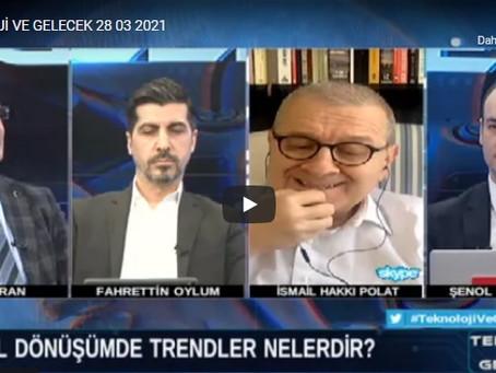 DİJİKAD Başkanı Zekai KIRAN, BengüTürk TV'de Teknoloji ve Gelecek Programına Konuk Oldu