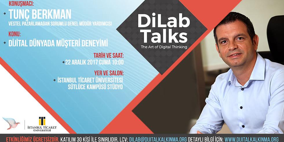 DiLab Talks – Tunç Berkman