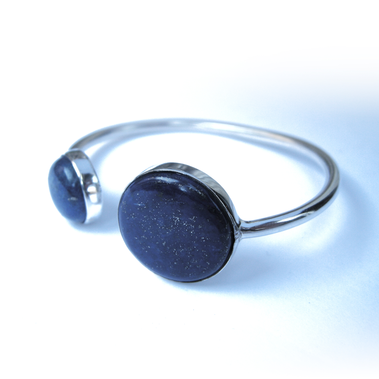 Bracelet double Lapis Lazuli