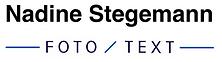 Nadine Stegemann Portraitfotografie München Logo