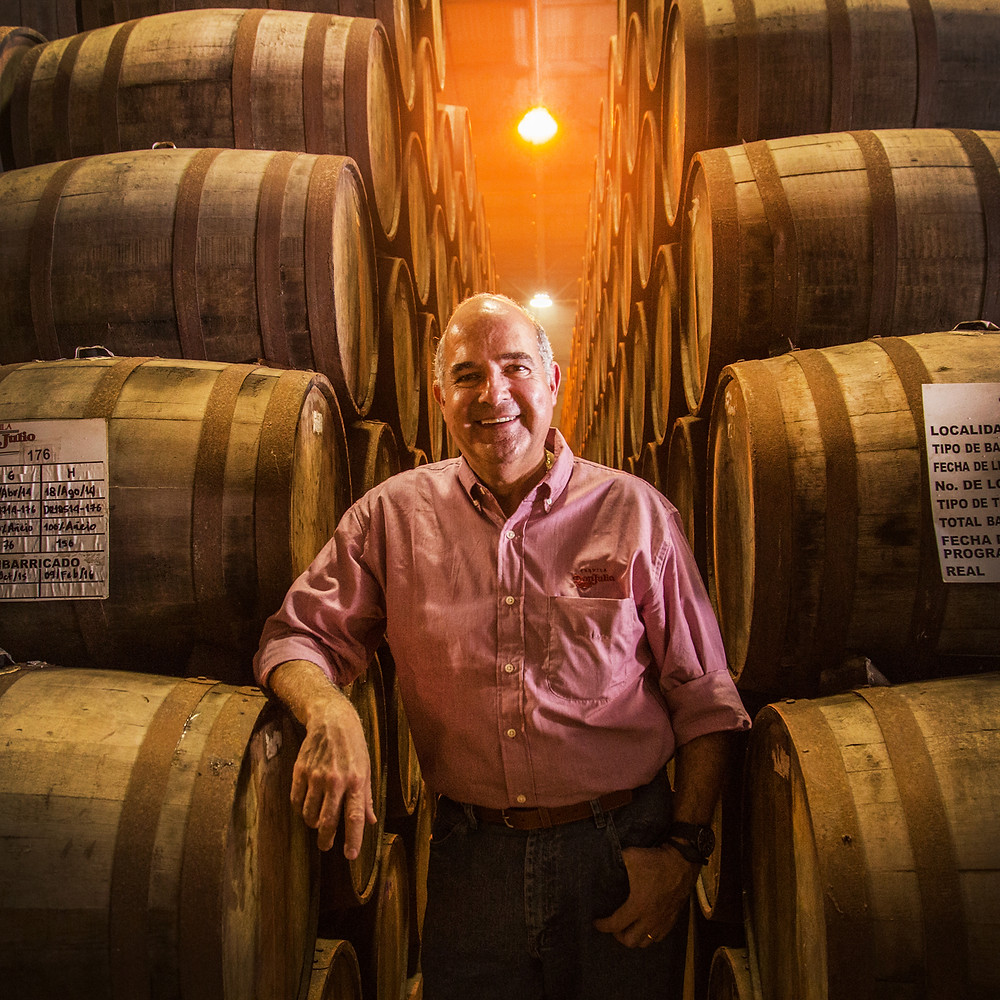 Enrique De Colsa, Master Distiller at Don Julio Tequila