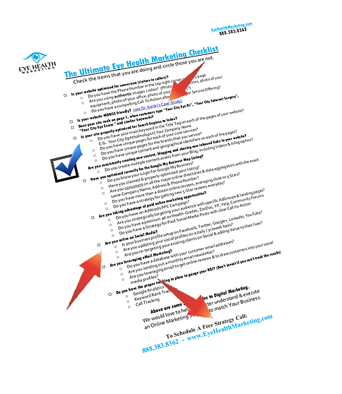 Ultimate Marketing Checklist Graphic Fin