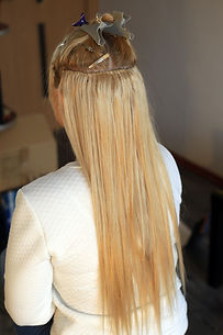 hair extensions, truss sewing, Hollywood