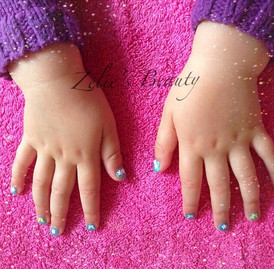 Pretty Nails For Little Ladies