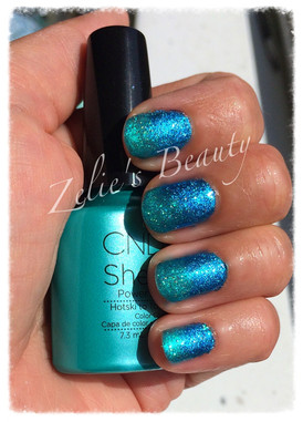 Stunning Blue Ombre Effect Shellac