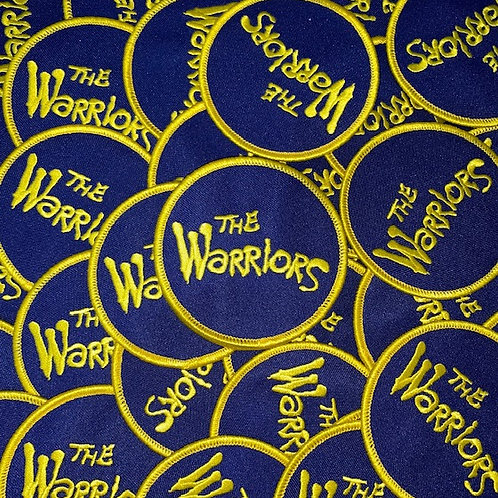 The Warriors Movie Patch (blue and yellow)